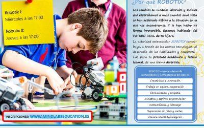 Información sobre Robótica.