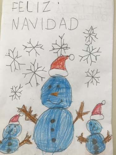 Tarjeta Navidad 1 A
