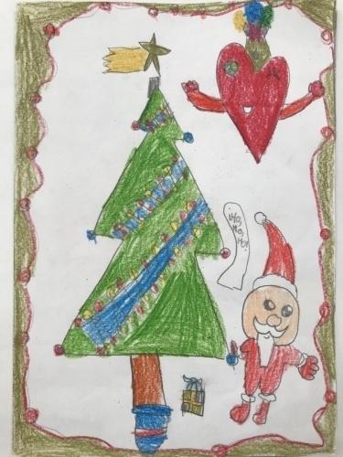 Tarjeta Navidad 3 A