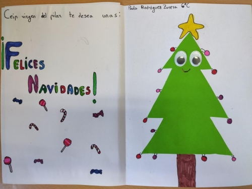 Tarjeta Navidad 6 C