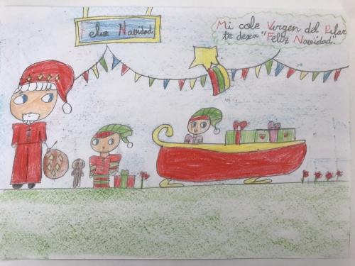 Tarjeta Navidad 2 B