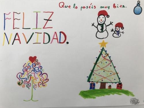 Tarjeta Navidad 4C