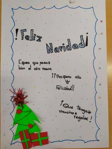 Tarjeta Navidad 6 B