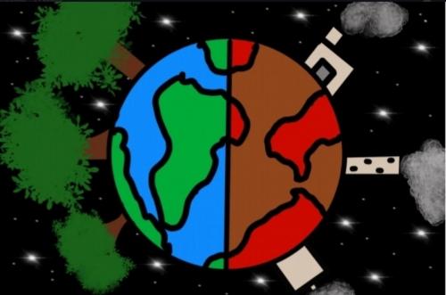 Graciela Pérez 6ºB Ecoescuela Planeta Tierra pasado y futuro.